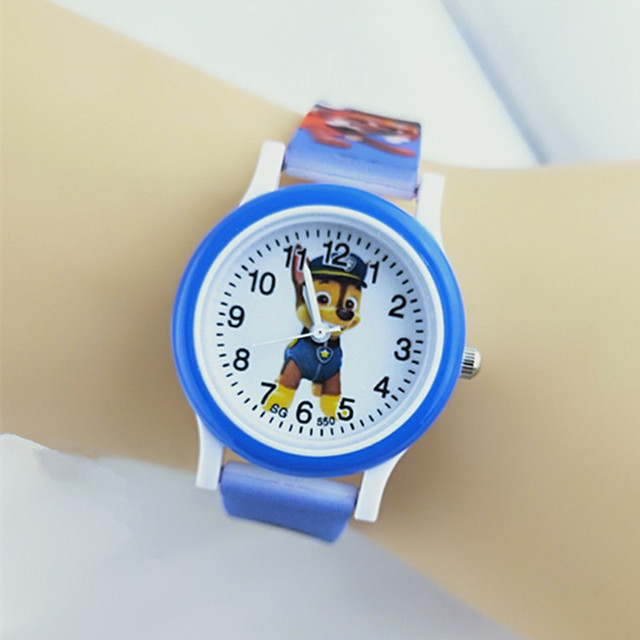 Exclusive new release poo children watches life waterproof rubber students quart
