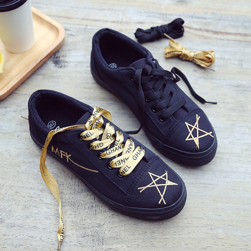 summer fashion women casual shoes lace up comfortable flat casual shoes slipony woman footwear leisure women canvas shoes New arrivals Women's Canvas Flat Shoes 2018 Fashion Lace Up Women Sneaker Woman Casual Comfortable Flats Footwear Tenis Feminino