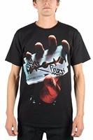 Tailored Shirts Graphic Crew Neck Judas Priest British Steel Mens T Shirt Short Sleeve Tees For