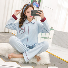 Breastfeeding pajamas breast feeding nightwear maternity nursing pajama sets sleepwear pregnancy pyjama Spring