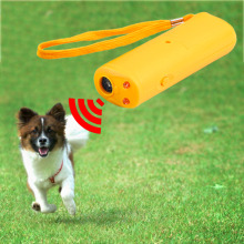 High Quality 3 in 1 Anti Barking Stop Bark Ultrasonic Pet Dog Repeller Training Device Trainer With LED hot search