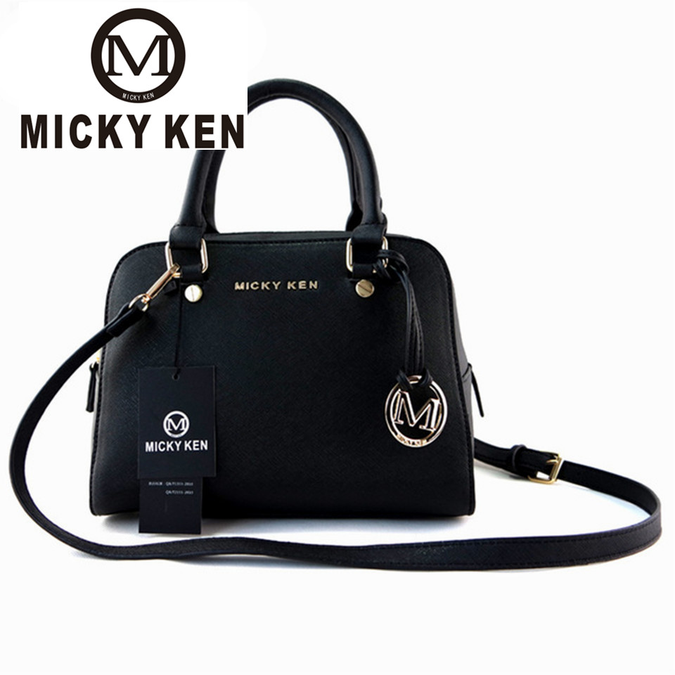 c81c135ca78f MICKY KEN marca Cruz patrón PU cuero bolso de mano de las mujeres bolso de  mensajero bolsa de ...