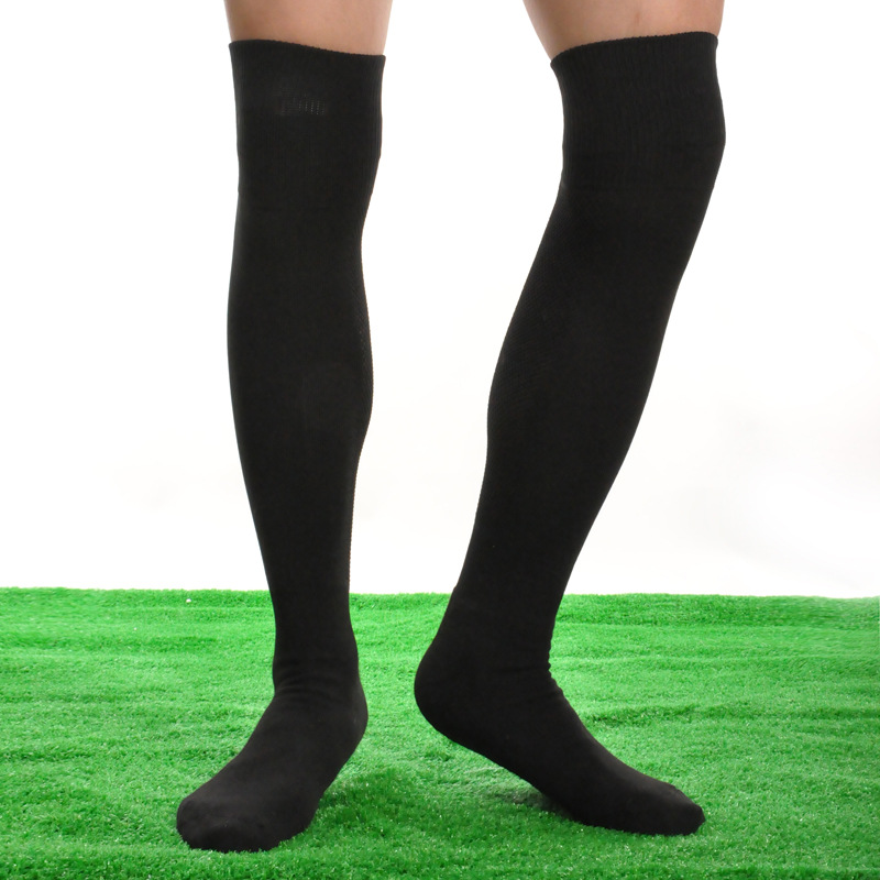 5dd256631 1 Pair Adult Long Soccer Socks Non slip Sport Football Stockings Ankle Leg  Shin Guard Compression Protector Long Socks on Aliexpress.com | Alibaba  Group