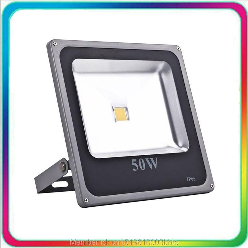 4PCS Warranty 3 Years 100-110LM/W LED Flood Light 50W LED Floodlight Outdoor Waterproof Tunnel Spotlight Bulb