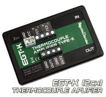 EGT K Thermocouple Amplifier Conditioner K Type 0 1250°C 0 5V 2CH AD8495 AD597