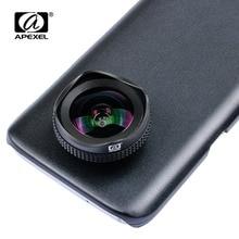 APEXEL 2 في 1 مجموعة عدسات كاميرا الهاتف 16 مللي متر 4 كيلو عدسة الهاتف المحمول زاوية واسعة جدا مع مرشح CPL ل آيفون X 7 8 سامسونج s8 زائد