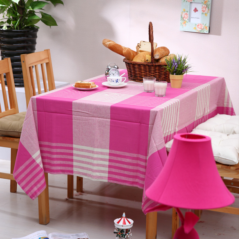 100% cotton table cloth rustic 100% cotton tablecloth fashion rectangle dining table cloth measurement