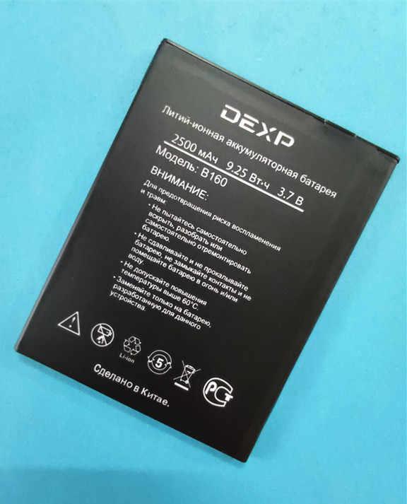 B-TAIHENG 100% haute qualité nouveau 2500mAh haute qualité B160 batterie pour DEXP B160 batterie de téléphone portable intelligent