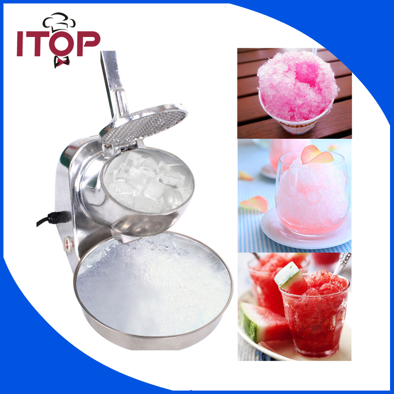Stainless Steel Electric Block Ice Shaver/Manual Ice Crusher Machine electric ice block shaver for bar and restaurant