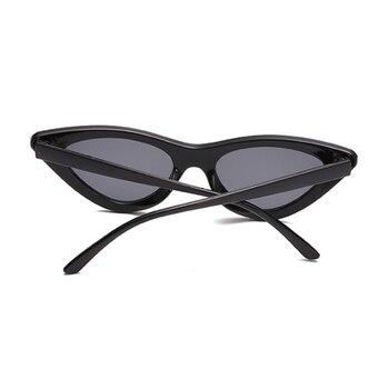 Sexy Cat Eye Sunglasses Women Brand Designer Mirror Black Triangle Sun Glasses Female Lens Shades for Ladies Eyewear UV400 6