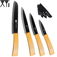 New Kitchen Knives 3 4 5 6 Fruit Utility Slicing Bread Bamboo Handle XYj Ceramic Knife