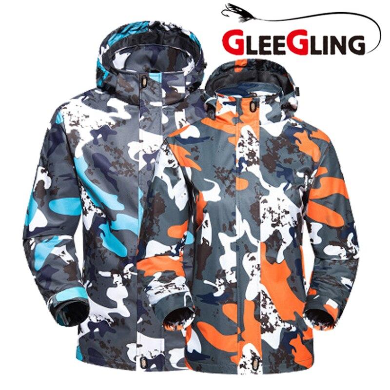 2018 hiver Softshell randonnée veste coupe-vent pêche vêtements hommes cyclisme Trekking veste à capuche ropa daiwa