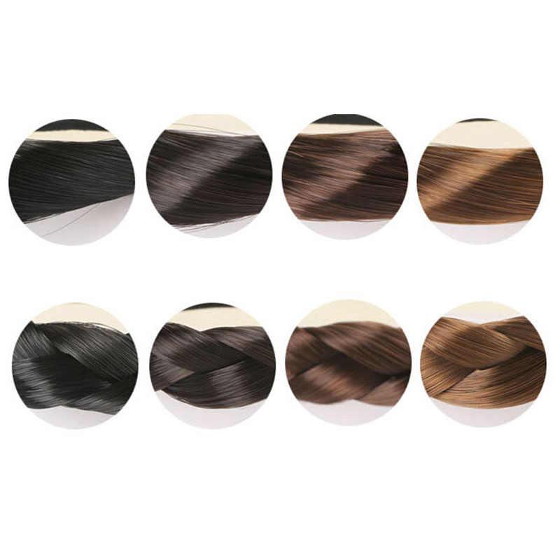 Модный женский прямой парик, эластичная лента для волос, резинка для волос, держатель для конского хвоста, повязка для волос для женщин