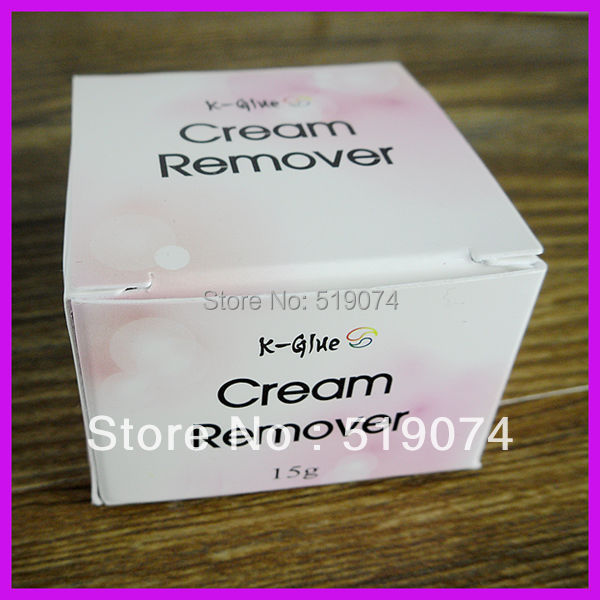 Eyelash Extension/Korea Individual Eyelashes Extension Glue Remover Cream 15ml