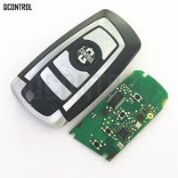 QCONTROL Coche Clave Remoto Inteligente para BMW 1 3 5 7 Series Sistema de Auto CAS4 Vehichle Alarma Sin Llave Fob
