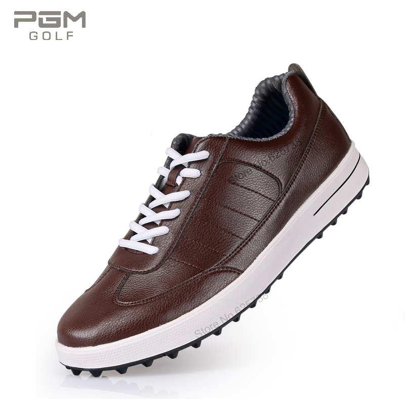 Golf shoes men cowhide spikes super soft waterproof golf breathable sport shoes sneakers resistant anti-skid athletic shoes golf 3 td 2011