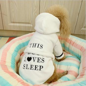 dog-pet-pajamas-bichon-cat-clothes-dog-robe-leisure-wear-teddy-puppy-hoodie-soft-cute-print-pjs-xs-s-m-l-xl-2xl