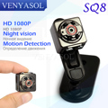 VENYASOL SQ8 HD 720/1080P Sport Mini Camera DV Camcorder Voice Video Recorder Digital Cam Small Hidden Infrared Night Vision Spy