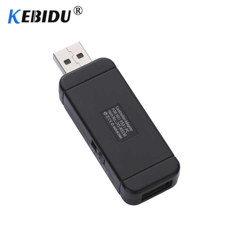Kebidu Беспроводной USB для PS4 для PS3 для nintendo переключатель НС ПК для Xbox One S 360 контроллер Joypad борьба придерживайтесь адаптер