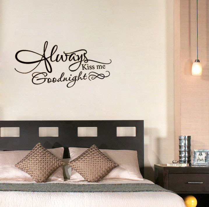 Always Kiss Me Goodnight Wall Art online get cheap wallpaper bedroom always kiss me goodnight
