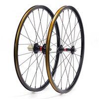 Silverock 20 451 406 Alloy Mini Velo Wheels NBR Rim 74m 100mm 130mm 135mm V Caliper Brake Folding Recumbent Bike Minivelo Wheel