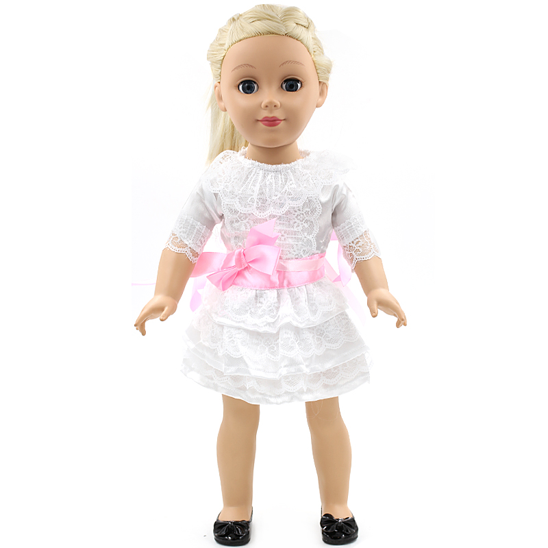 Handmade 18 inch American Girl Doll Clothes 15 Style Multi Color Skirt Suit Fits 18 American Girl Doll D-7 american girl doll clothes white wedding 18 inch doll clothes madame alexander handmade american girl doll clothes 4 styles d 1