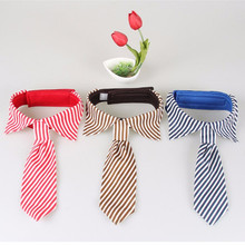 1 Pc Adjustable Pet Dog Tie Stripes Large Neckties Cat Puppy Bow Ties For Small Dogs Clothes Costumes Grooming Supplies