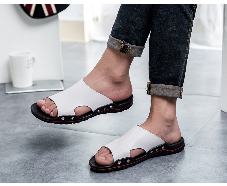 HTB13zQ5rIuYBuNkSmRyq6AA3pXak - ALCUBIEREE Brand Slippers Men Summer Flat Sandals Casual Beach Flip Flops Shoes Non-slip Indoor House Home Slippers Big Size 48