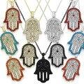 2016 NewBrand HIGT jóias novidade bofetadas colar decoração colar enforcamentos colar tendência nacional de design curto n39
