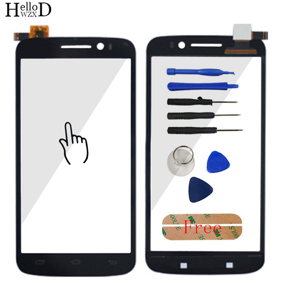 Smartphone Touch Glass For Prestigio MultiPhone PAP 7600 DUO PAP7600 Front Screen Digitizer Panel Lens Sensor Tools Adhesive