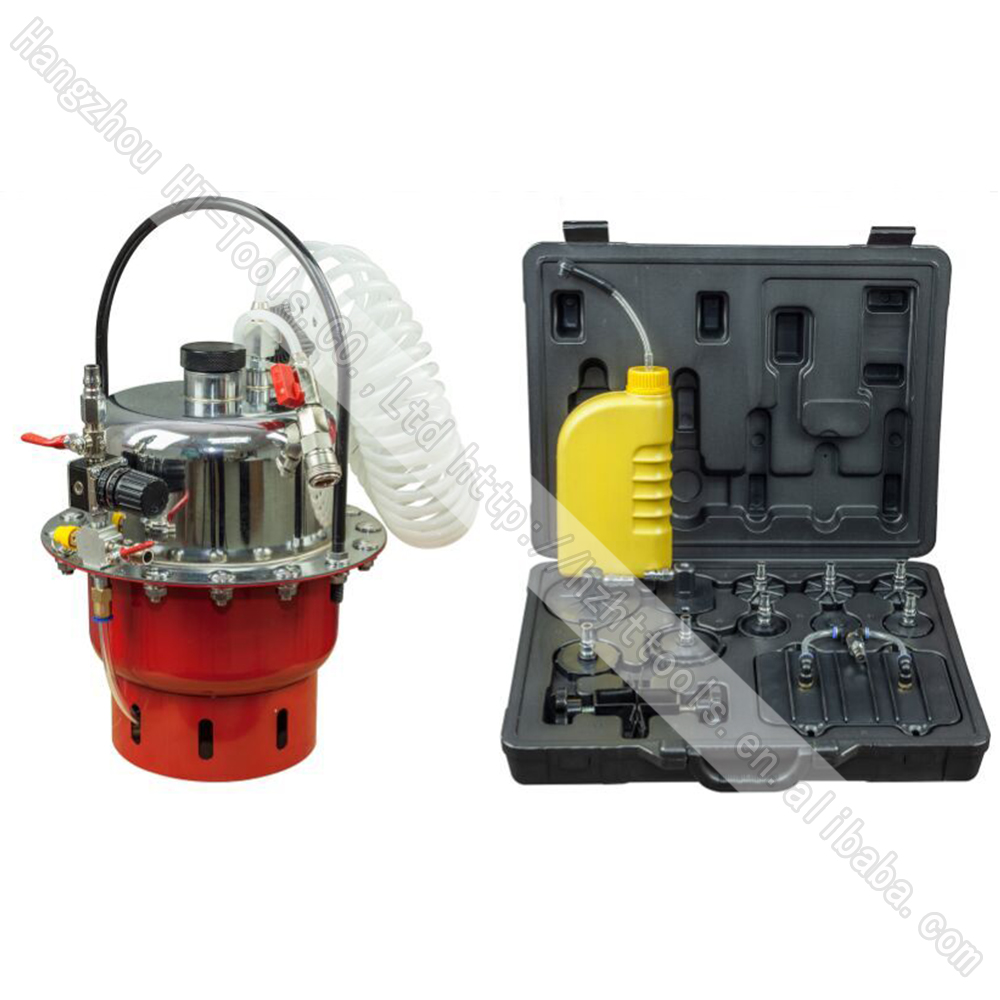 Pneumatic Pressure Bleeder Tool Set Brake And Clutch Bleeding System Tool Brake Bleeding font b Machine