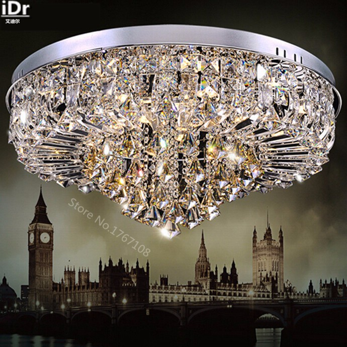 contemporary luxury high end lighting fixtures wholesale crystal led modern living room ceiling lights high grade light