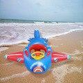 Crianças nadando círculo grosso volante inflável flutuante barco bebê avião seatboat life-saving sentado círculo