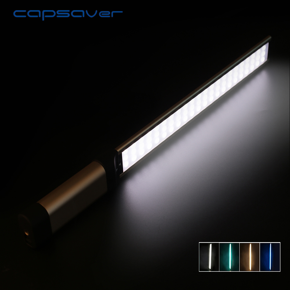 capsaver LA L2S Handheld LED Video Light Photography Lighting 5500K 66 LEDs CRI 90 Camera Studio