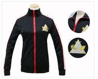 Free! Iwatobi Club Rin Matsuoka Deluxe Edition Uniform Jacket Coat Suit Cosplay Costume Samezuka Academy Logo