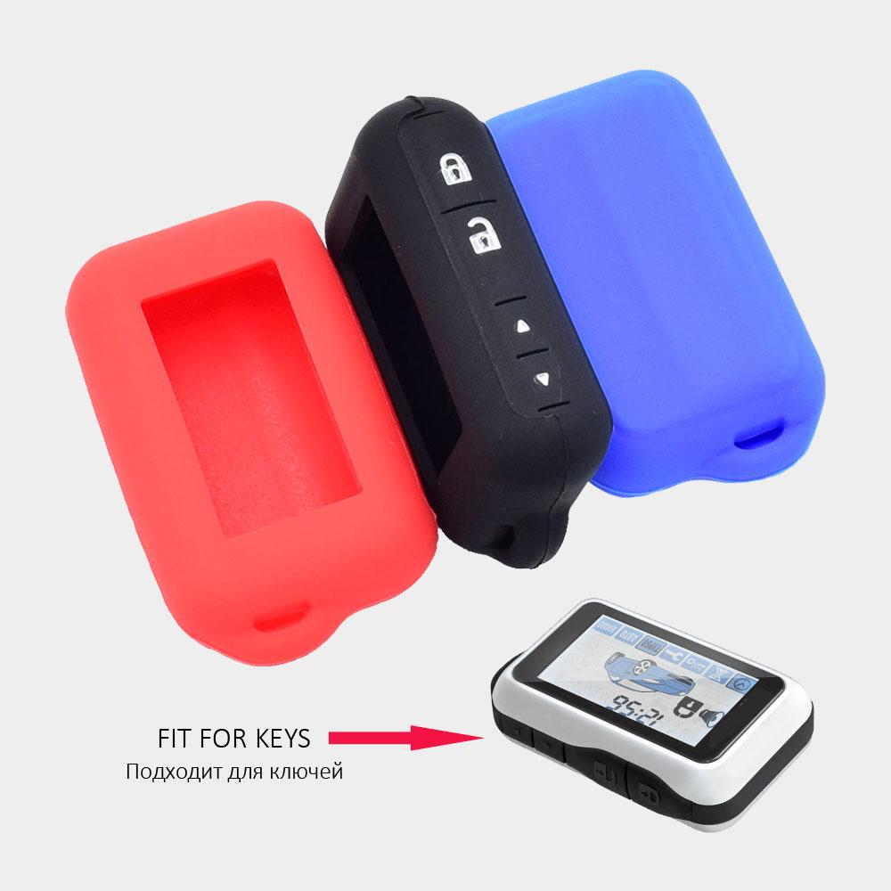 ATOBABI E90 E91 Funda de silicona para alarma de automóvil de 2 - Accesorios de interior de coche - foto 2