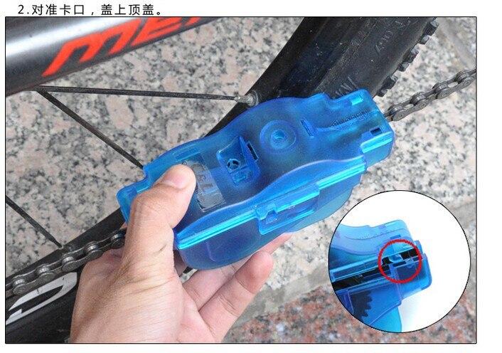 Горячее предложение! Распродажа! Машина для очистки велосипедной цепи Щетки скруббер открытый чистящие инструменты LGO001