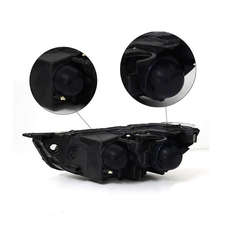1PC HID LED Headlight Car Dust Cover Rubber Waterproof Sealing Headlight Cover Car Styling Accessories H1 H3  H4 H7 H8 H11 9006