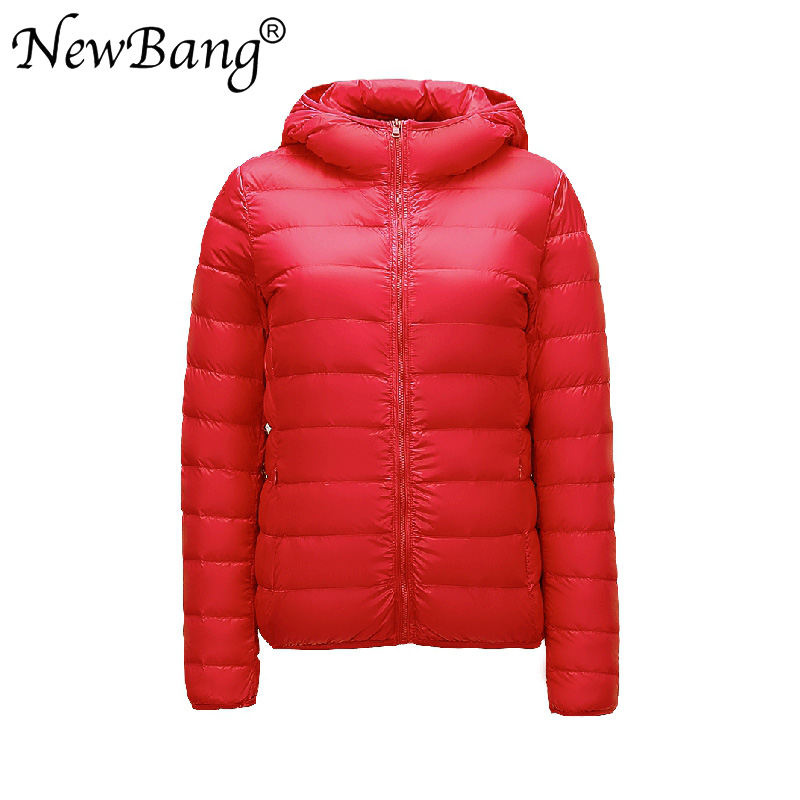 NewBang Brand 6XL 7XL 8XL Large Size Womens   Down   Jacket Ultra Light   Down   Jacket Women Winter Windproof Feather   Coats