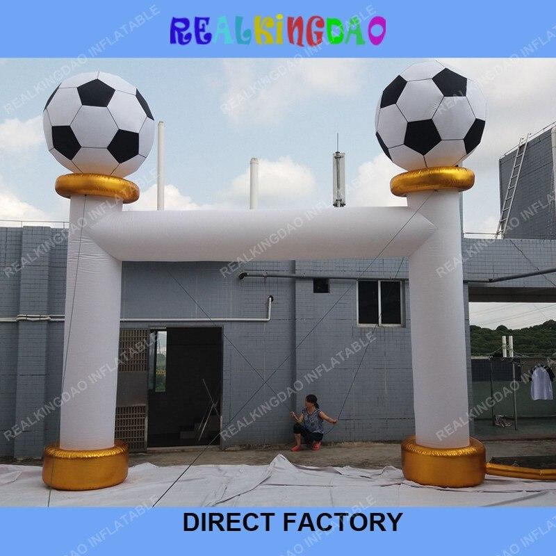 Arche gonflable de Football 2018 pour les événements avec livraison gratuite et ventilateur