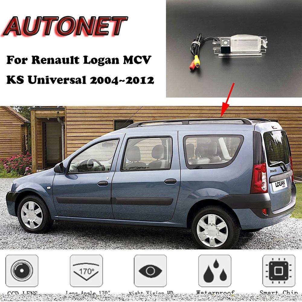 AUTONET Backup Rear View Camera For Renault Logan MCV KS Universal 2004~2012 /parking Camera Or Bracket