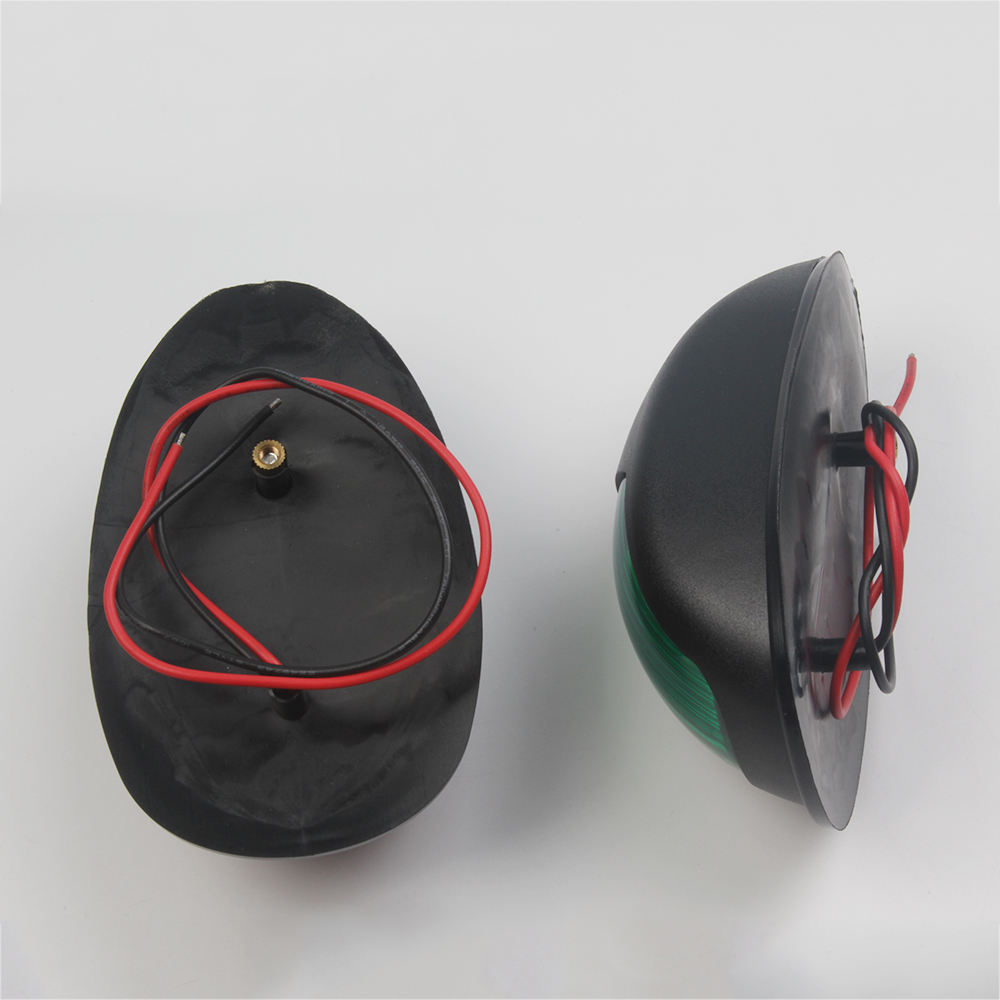 Image 3 - 1 Pair Marine Boat Yacht Navigation Light 12V Red Green Boat Accessories Marine-in Marine Hardware from Automobiles & Motorcycles