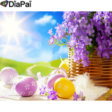 DIAPAI 100% Full Square/Round Drill 5D DIY Diamond Painting Flower landscape  Diamond Embroidery Cross Stitch 3D Decor A18973 diapai 100% full square round drill 5d diy diamond painting flower landscape diamond embroidery cross stitch 3d decor a21095