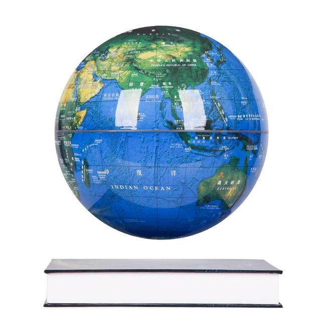The Magnetic Levitation Globe Book Creative Arts Personality Study  Leadership Business Office Desk Ornaments Gifts Articles