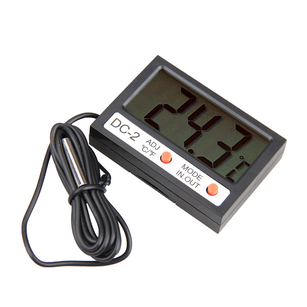Mini 2.1 pulgadas LCD Termómetro Digital Car Display LCD de Coches Frigorífico A