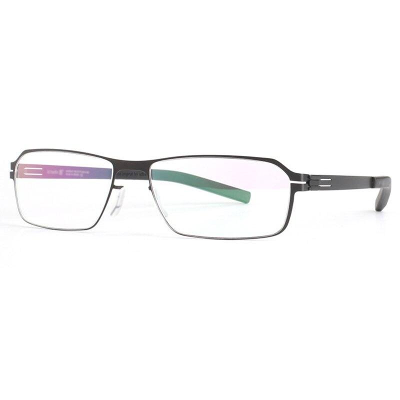 Spectacles Unique No screw Design Brand Rectangular Frame for Optical Eyeglasses Spectacles Prescription Eyewear grim