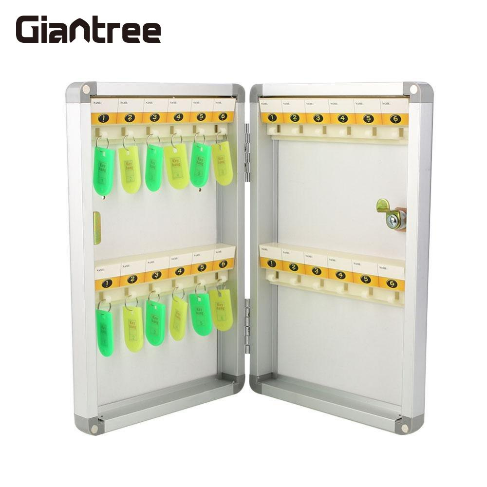 giantree Key Storage Organizer Boxes Digital Secure Security Safety Key box Cabinet Box Cash Secret Lock Company Home Office mosaic key box timber craft entrance pastoral perspective shell key box key box key cabinet wall href
