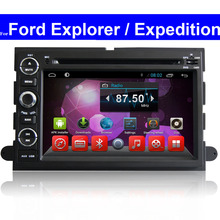2 Din Touch Screen Android Car DVD Player for Ford Explorer / Expedition GPS Radio Navigation Bluetooth TV 3G WIFI Car Stereo