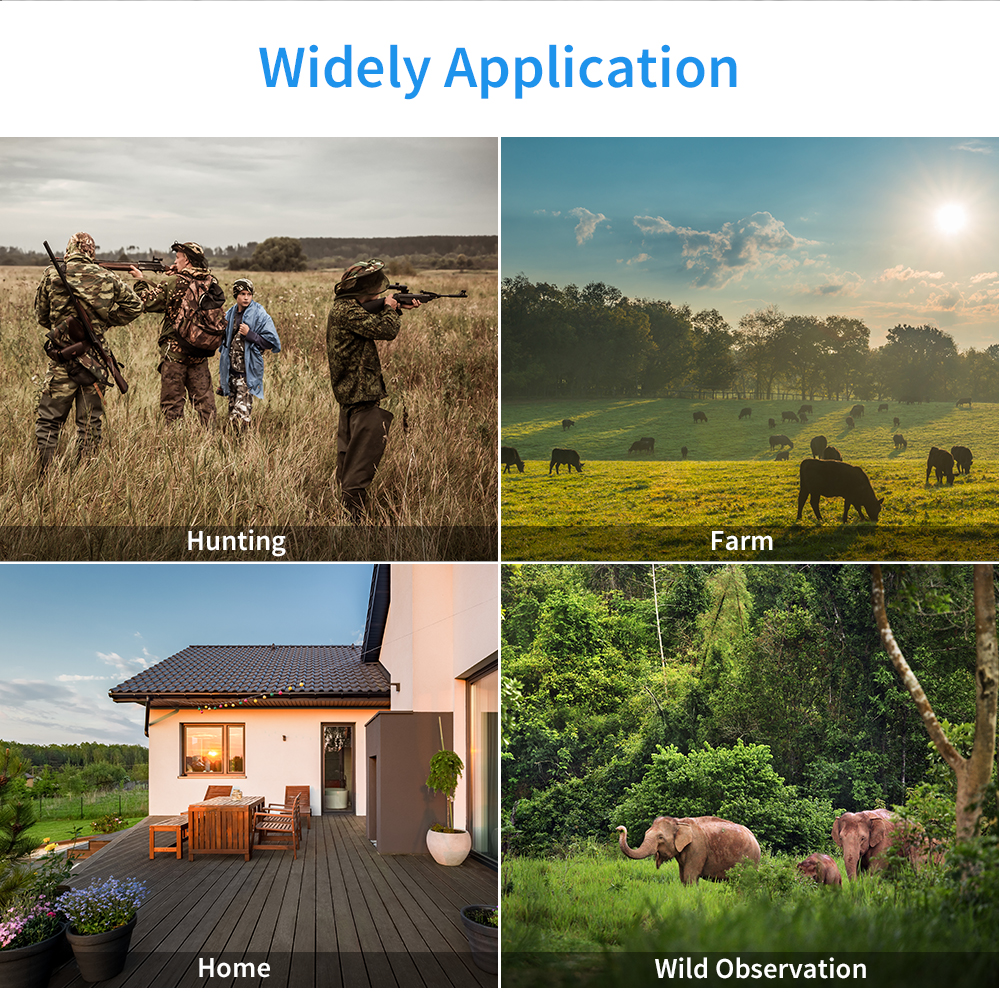 Image 5 - BOBLOV Hunting Trail Camera Night Version Wild Cameras 16MP 1080P IP65 Photo Trap 0.3s Trigger Wildlife Camera Surveillance-in Hunting Cameras from Sports & Entertainment