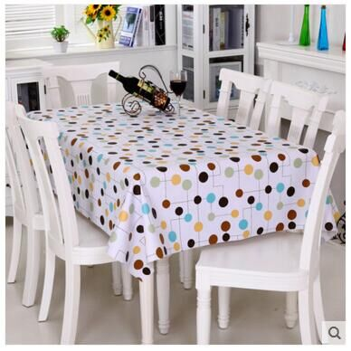 PVC Table Cloth Waterproof Disposable Oil Proof Soft Glass Table Mat In  Tablecloths From Home U0026 Garden On Aliexpress.com | Alibaba Group